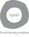 Opal Food and Body Wisdom Logo