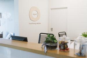 Opal: Food+ Body Wisdom front desk