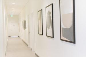 Opal: Food+ Body Wisdom hallway